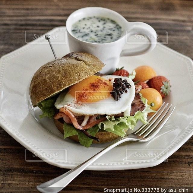 朝食の写真・画像素材[333778]