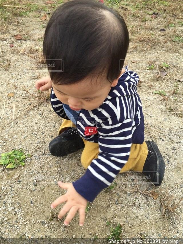 公園,子供,赤ちゃん,ベビー,砂遊び,外遊び