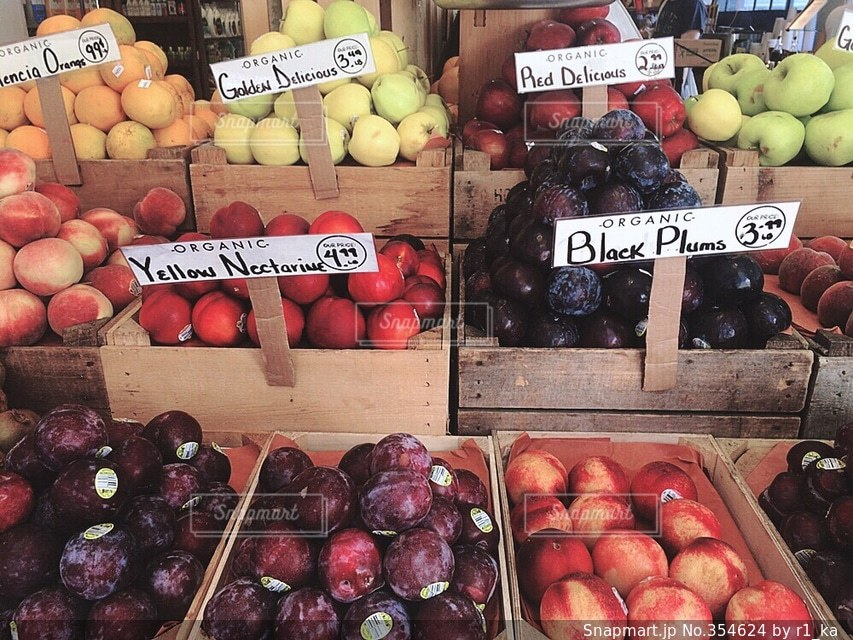 海外,フルーツ,果物,市場,NY,マーケット,I♡NY,スーパー,trip
