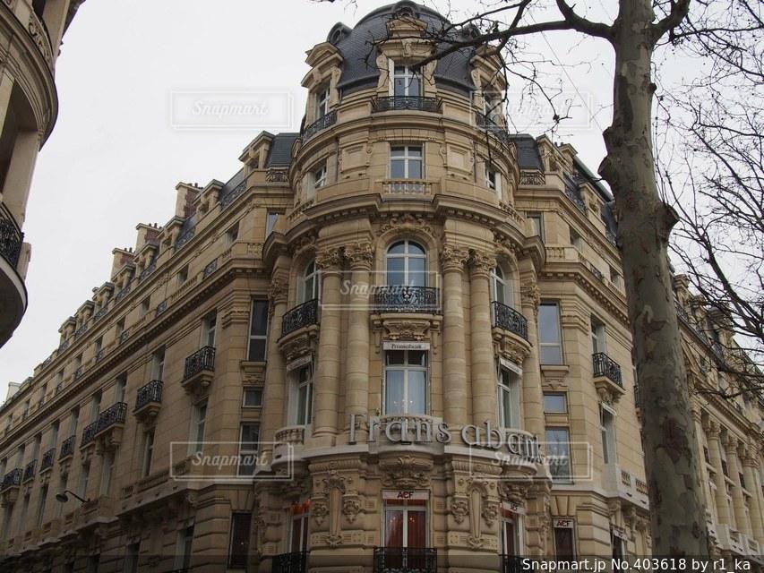 建物,旅行,フランス,パリ,海外旅行