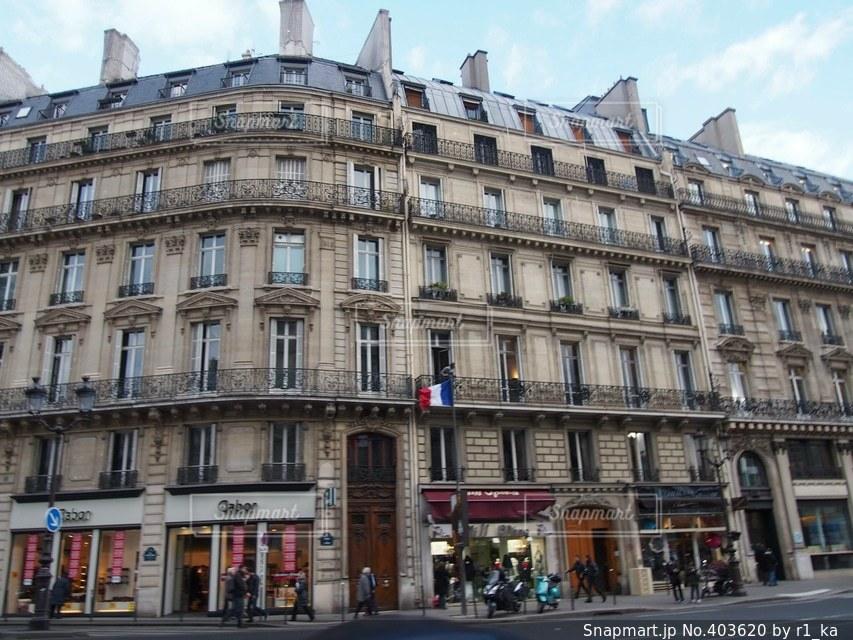建物,夜景,旅行,フランス,パリ,海外旅行