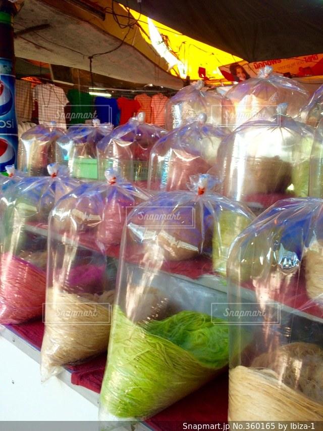 食べ物,カラフル,屋台,お菓子,タイ,Thailand