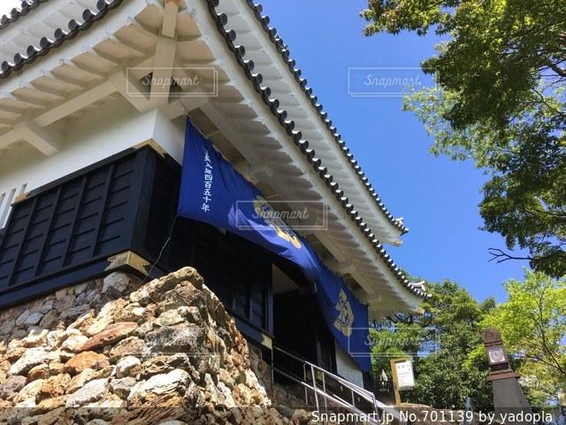 岐阜城入口の写真・画像素材[701139]