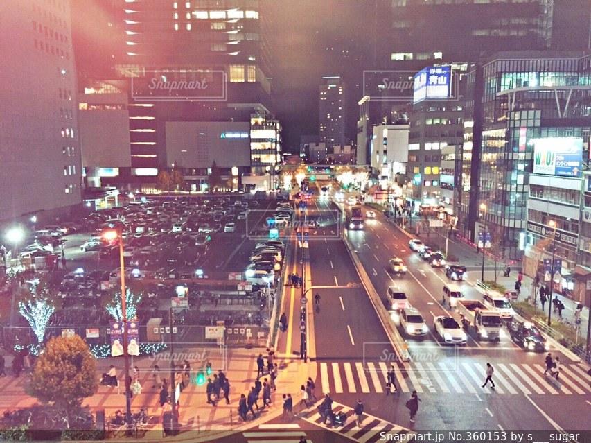 夜景,大阪,景色,街,ホテル