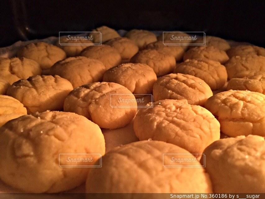 スイーツ,お菓子,クッキー,バレンタイン,手作り,オーブン,メロンパン