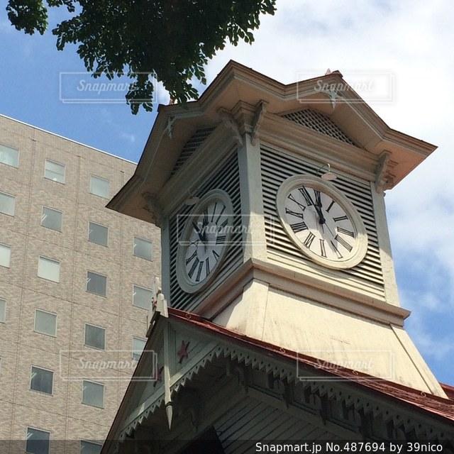 時計台の写真・画像素材[487694]