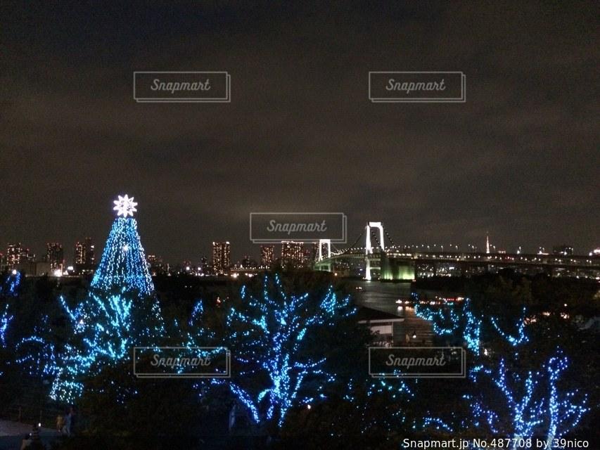 夜景の写真・画像素材[487708]