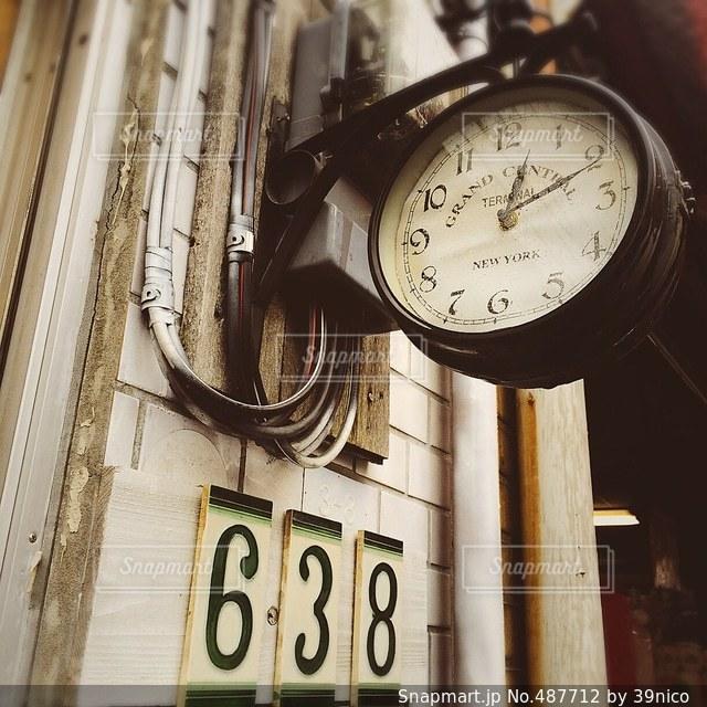 時計の写真・画像素材[487712]