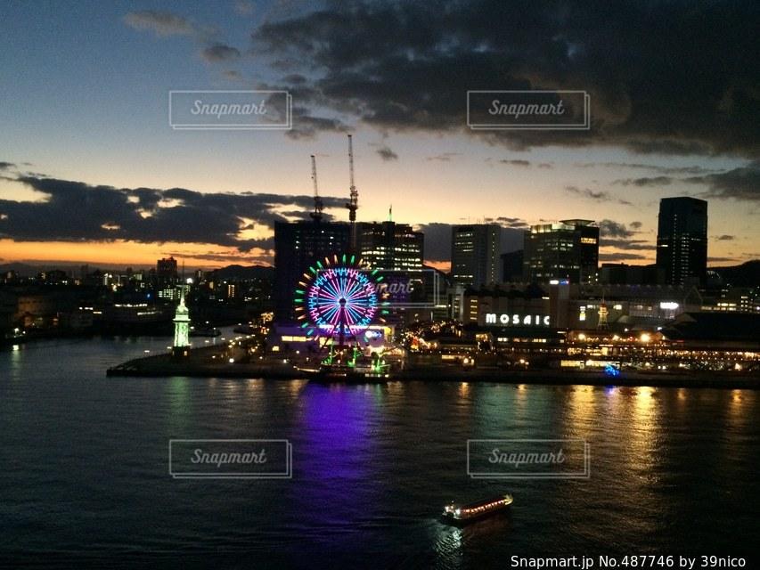 夜景の写真・画像素材[487746]