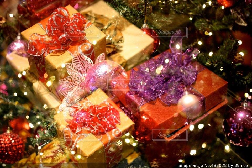 プレゼントの写真・画像素材[488028]