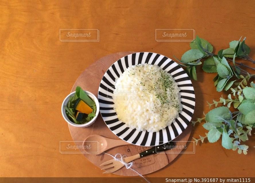 食卓,テーブル,クッキング,手作り,イタリアン,手料理,リゾット,チーズリゾット