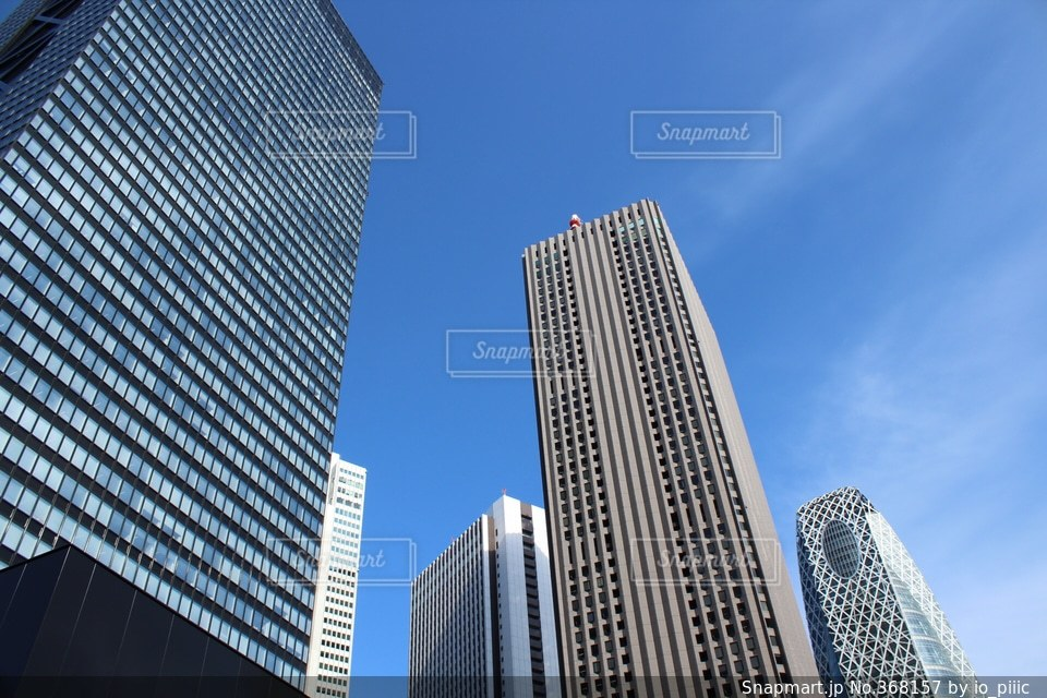 都心のビル群の写真・画像素材[368157]
