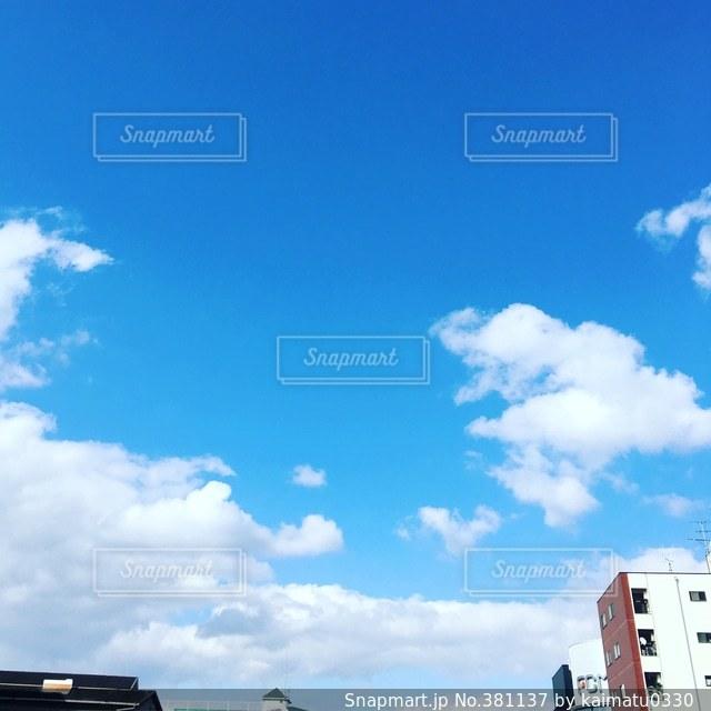 空の写真・画像素材[381137]