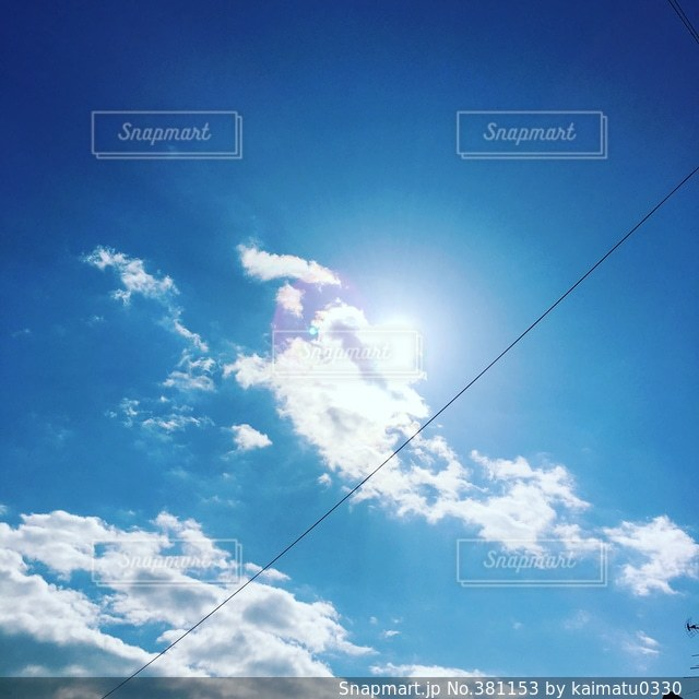 空の写真・画像素材[381153]