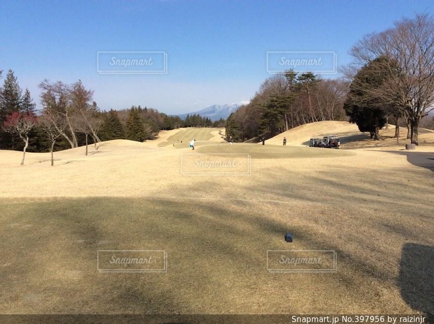 スポーツ,景色,ゴルフ,待ち時間,ティーショット