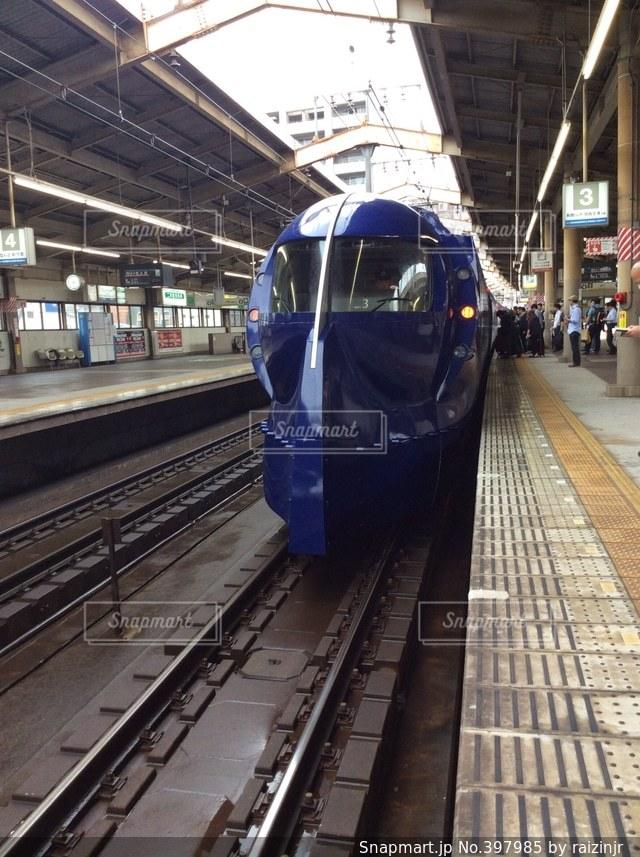 大阪,駅,電車,青,顔,関西,ラピート,電車顔