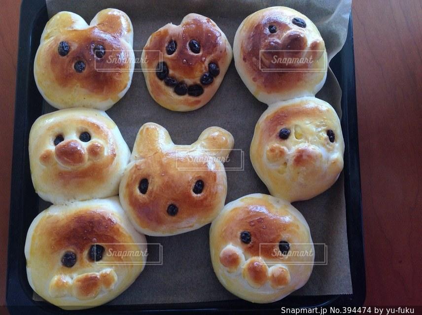 動物,うさぎ,パン,ねこ,いぬ,手作り,ネコ,ウサギ,イヌ,レーズン