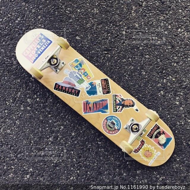 楽しいスケートボードの写真・画像素材[1161990]