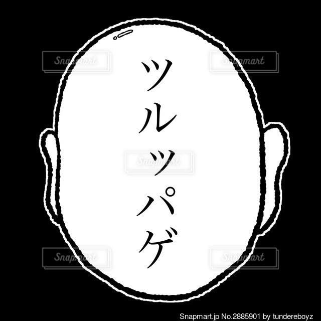 ツルッパゲの写真・画像素材[2885901]