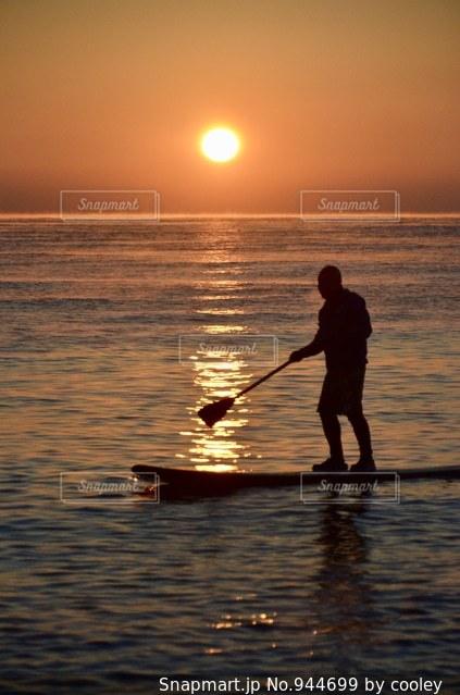 小田原の初日の出の写真・画像素材[944699]