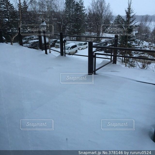 雪の写真・画像素材[378146]