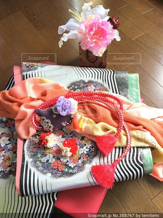 小物,着物,帯,飾り,アレンジ