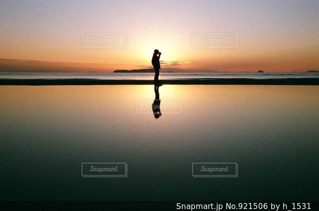 香川県の父母ヶ浜海岸の写真・画像素材[921506]