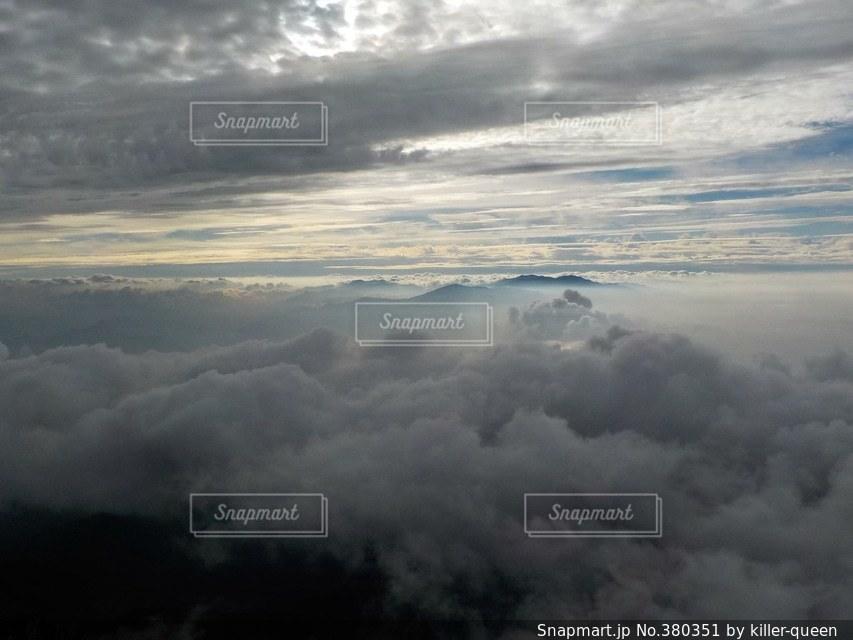 自然,風景,森林,雲,山,登山,長野,八ヶ岳,赤岳