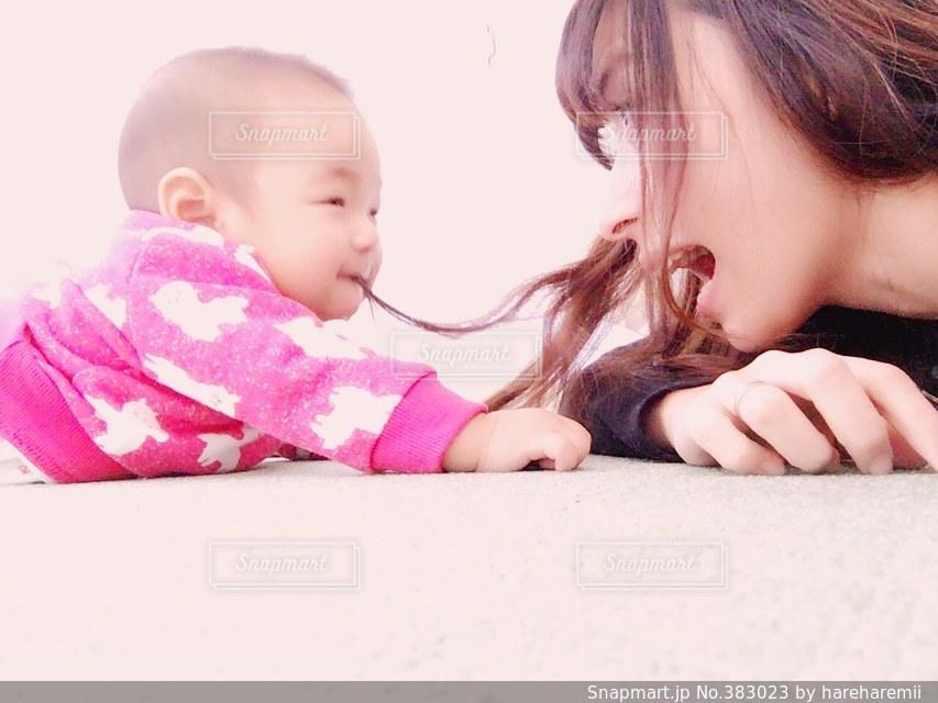 親子の写真・画像素材[383023]