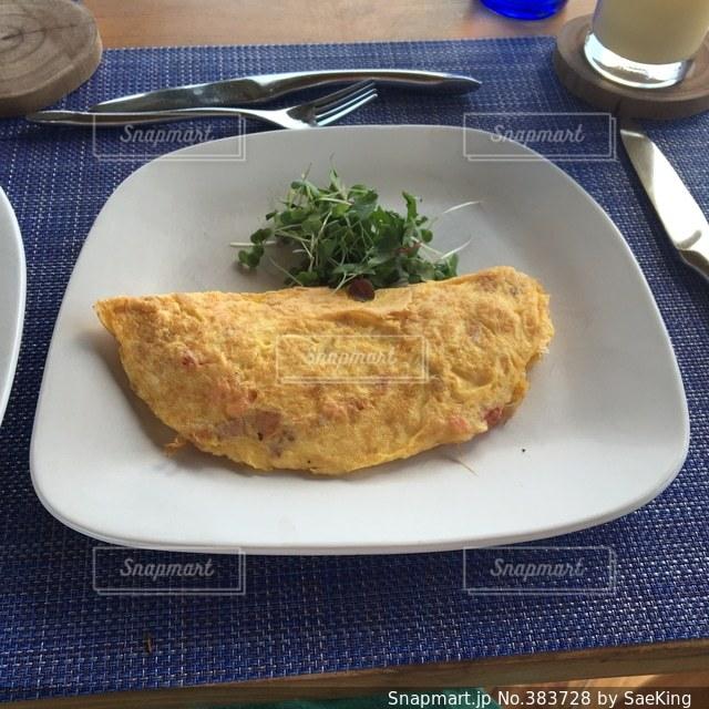 朝食の写真・画像素材[383728]