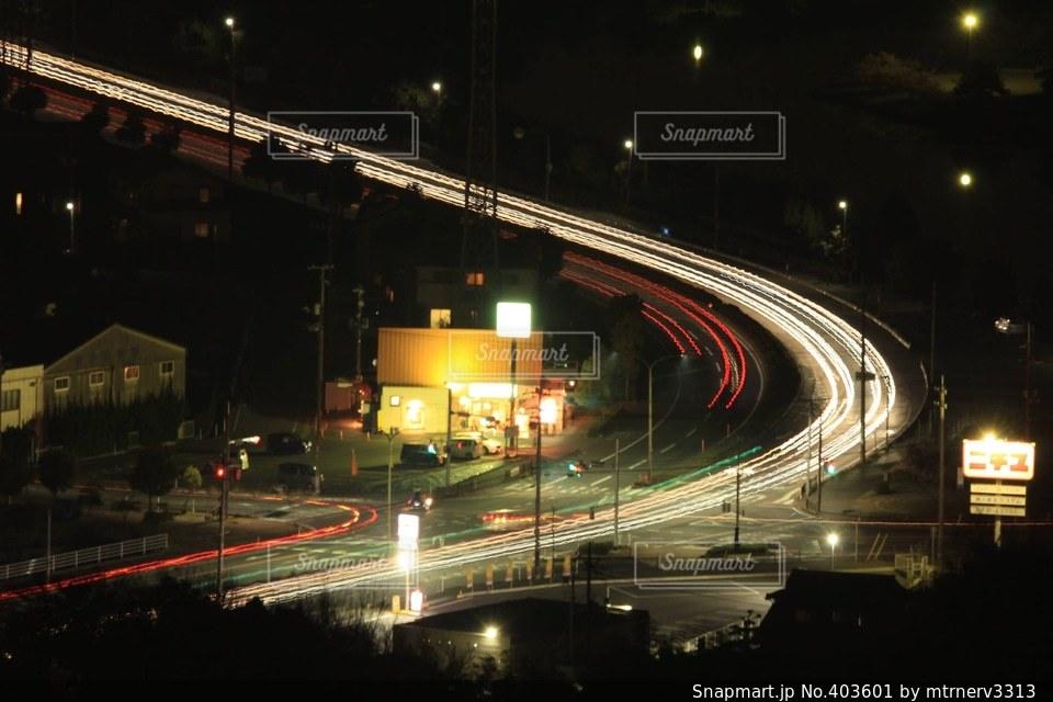 夜,夜景,工場夜景,夜空と夜景,夜景風景
