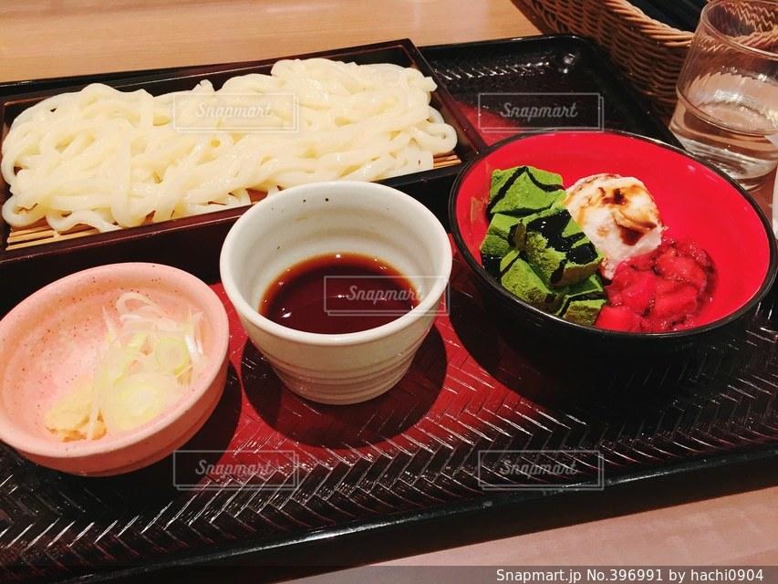 うどん,デザート,美味しそう,日本,ご飯,和食,美味しい,わらび餅