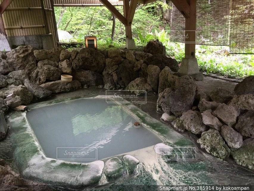 温泉の写真・画像素材[385914]