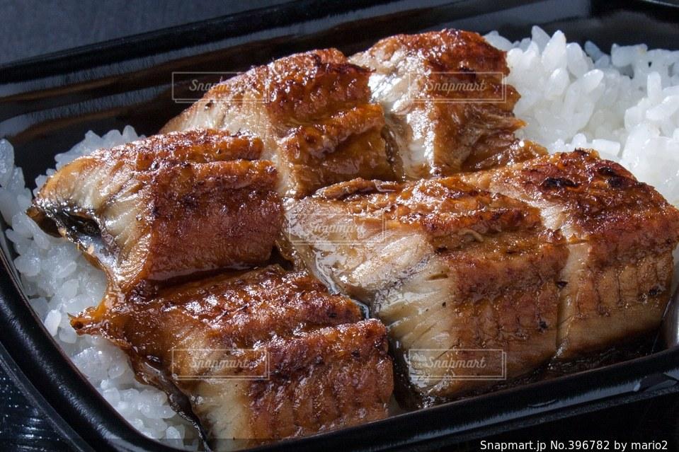 弁当,ごはん,和食,うなぎ,うな重,鰻重,かば焼き
