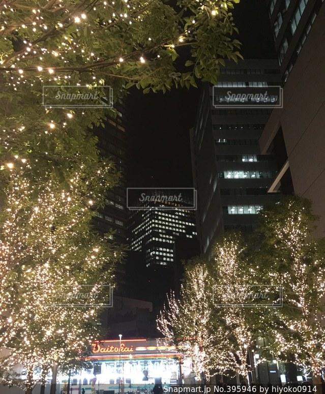 建物,夜景,ビル,イルミネーション,ライトアップ,名古屋