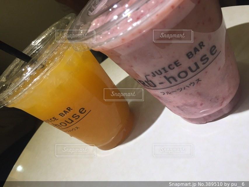 飲み物,フルーツ,オシャレ,cafe,デコポン,いちごミルク,パルコ,フルーツハウス