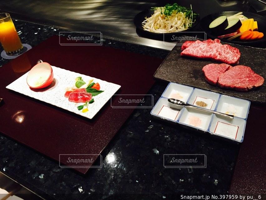 食事,ディナー,オシャレ,肉,美味しい,高級,夕飯,神戸牛,鉄板料理