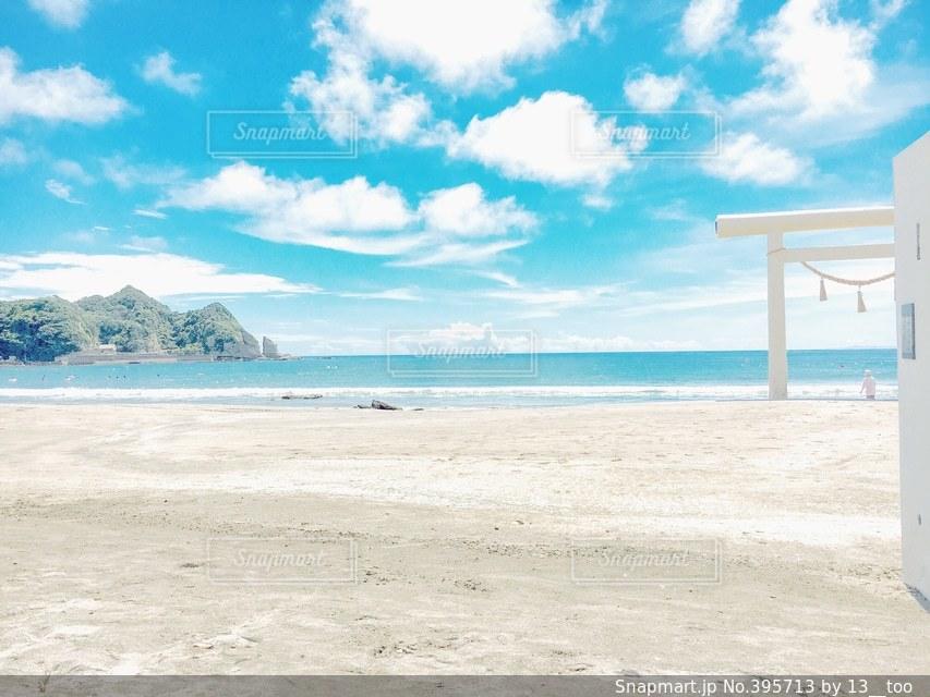 自然,海,空,青空,鳥居,日常,日本,青春,お散歩