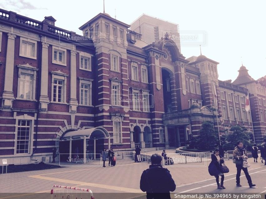 東京,駅,きれい,東京駅,オシャレ,外観
