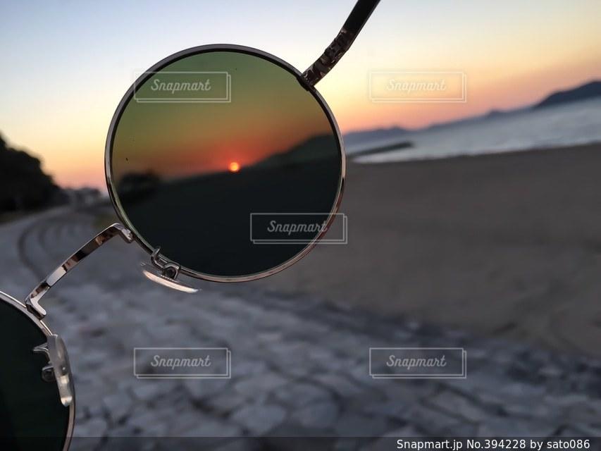 海,夕日,赤,サングラス,浜辺,熊本,日本,sunset,japan,sea,red,photography