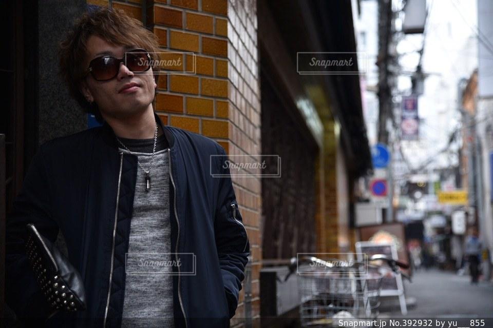 男性,モデル,大阪,ストリート,スナップ
