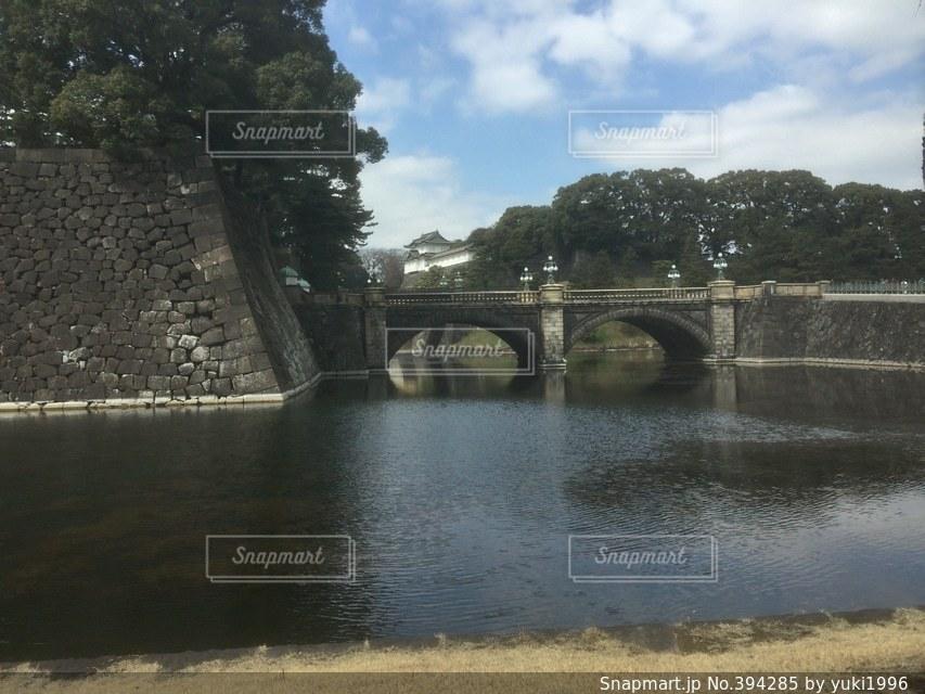 橋,東京,晴れ,青空,門,皇居外苑