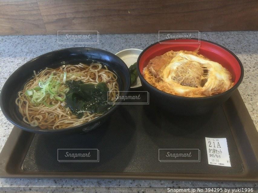朝食,東京,がっつり,千代田区,八重洲,富士そば,かつ丼セット
