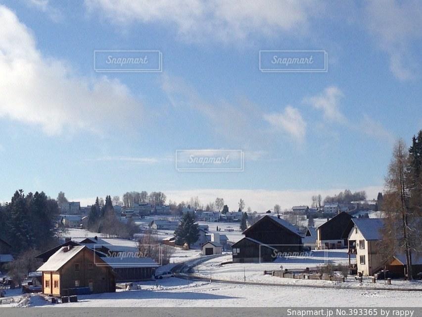 冬,雪景色,ヨーロッパ,ドイツ