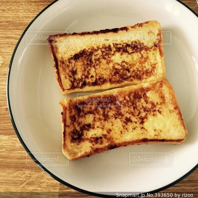 朝食,フレンチトースト,朝ごはん,食パン,一人暮らし