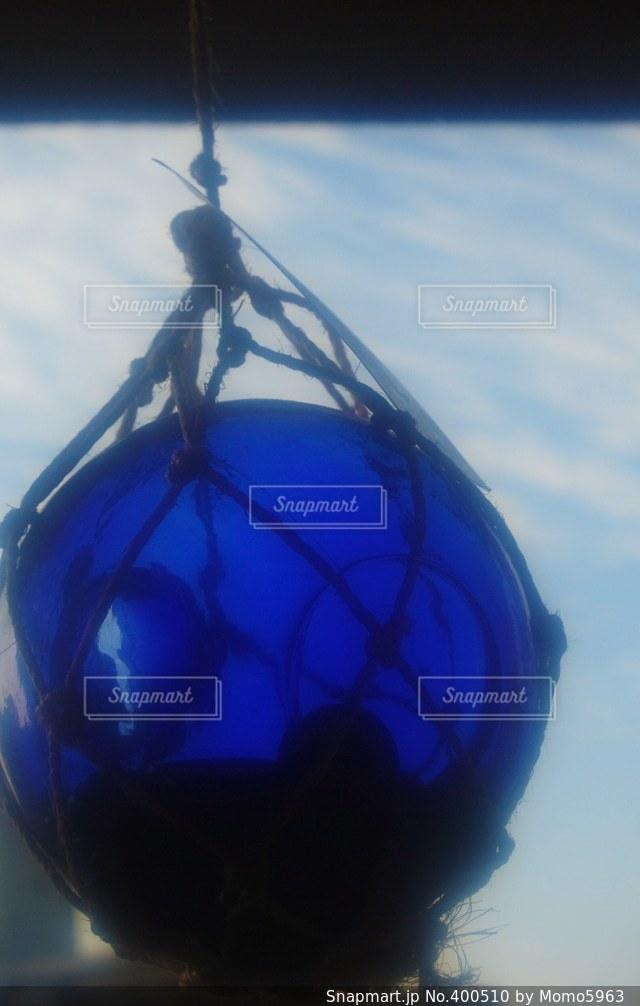 空,インテリア,綺麗,ガラス,ブルー,貯金箱,500円玉