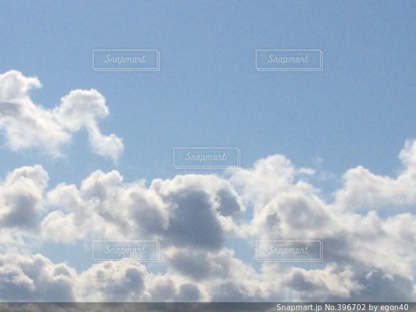 自然,風景,空,冬,雲,青空,背景,美しい,札幌,環境,背景素材