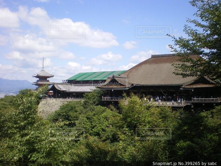清水寺の写真・画像素材[399265]