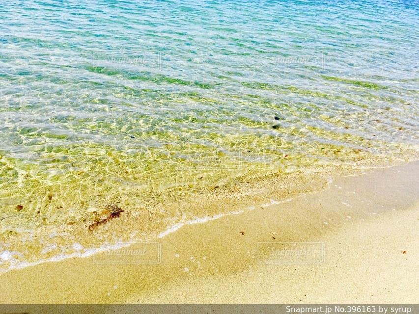 海,冬,砂,波