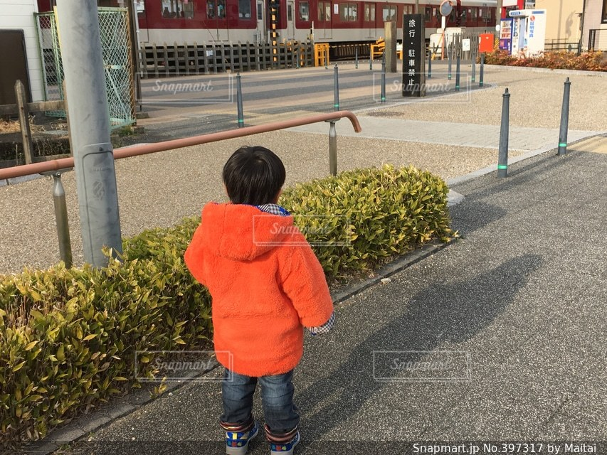 電車,子供,幼児,お散歩,近鉄